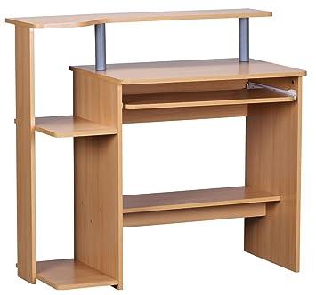 Computertisch drucker modern  FineBuy CEVO Computertisch ohne Rollen klein 94cm breit ...