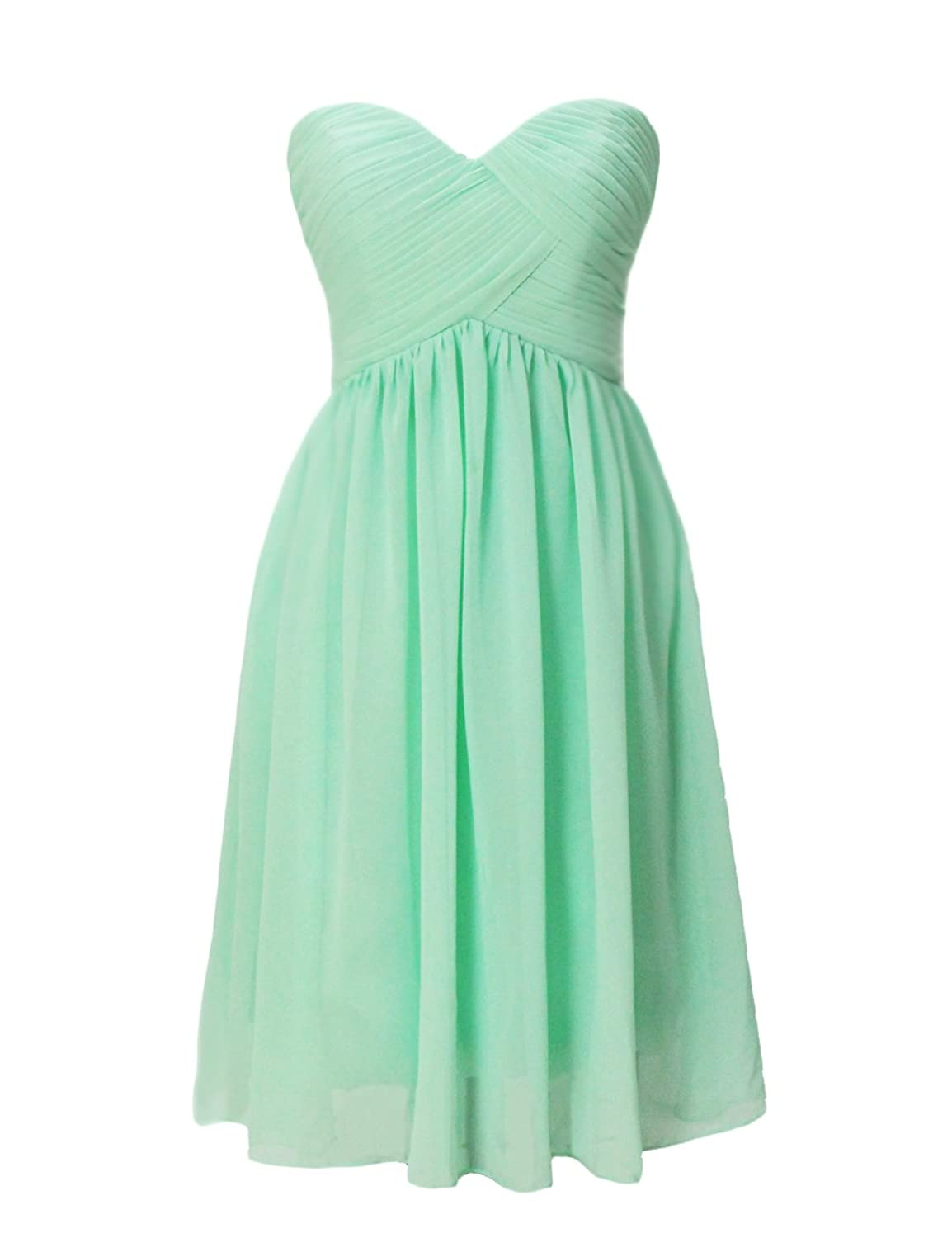 Dresstells Short Prom Party Dress Chiffon Homecoming Dress ...