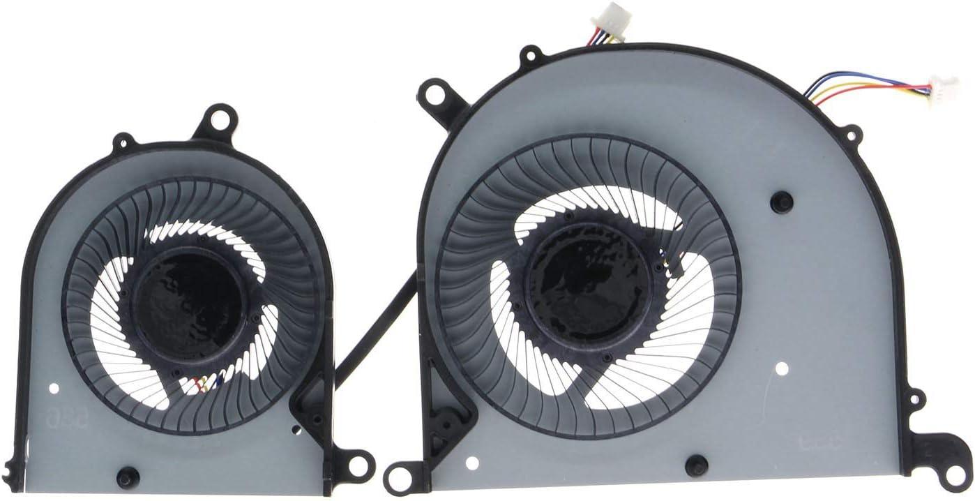 CPU/&GPU Cooling Fan for MSI PS63 Modern 8RC 8SC GTX1050 MS-16S1 16S1-CPU