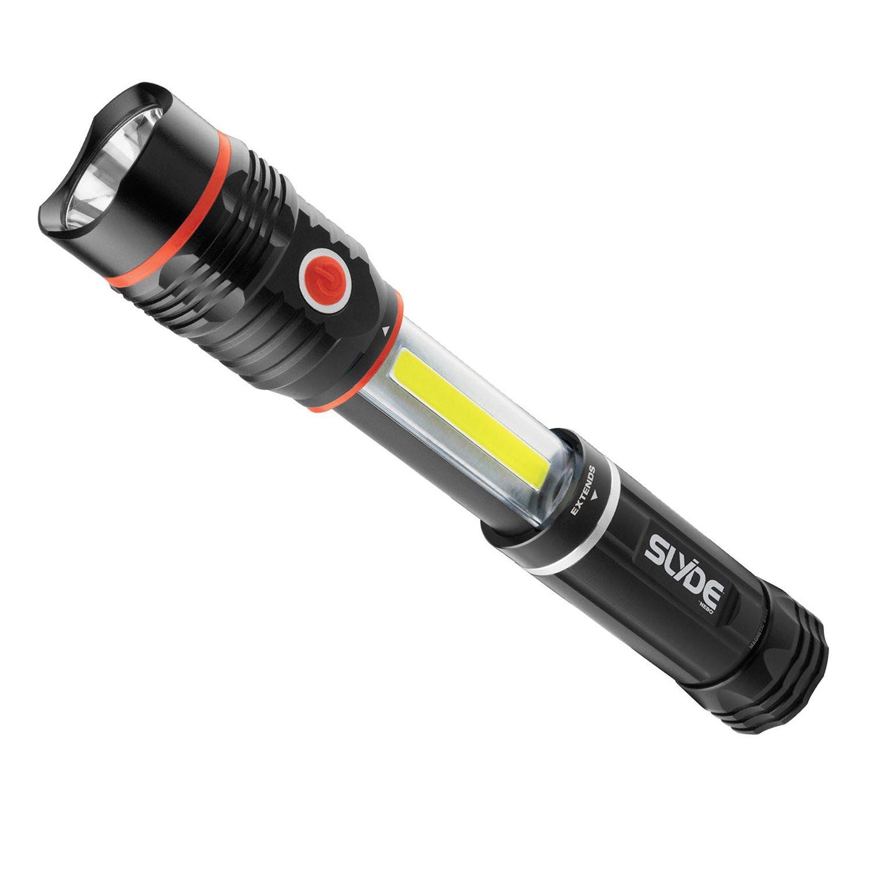 Amazon.com: :Nebo 300 lm SLYDE+ LED Flashlight 200 lm Work Light (4 ...