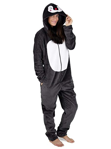 b2c29e567c Pijama Entero Mujer con Unicornios Koala Perro Gato Koala Dinosaurio Pijamas  de Animales Onesie Todo en Uno  Amazon.es  Ropa y accesorios