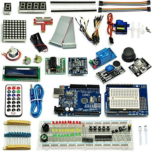Gikfun Ultimate UNO R3 Starter Kit for Arduino 1602 LCD Serv