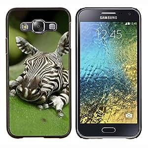 LECELL--Funda protectora / Cubierta / Piel For Samsung Galaxy E5 E500 -- Bebé lindo del arte de albergue Naturaleza --