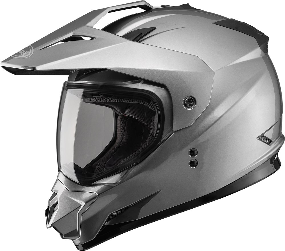 Gmax G5115475 Dual Sport Solid Helmet
