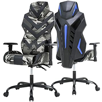Best Office Chairs For Back Support >> Bestoffice Pc Gaming Chair Ergonomic Office Chair Desk Chair High Back Racing Task Swivel Rolling Computer Chair With Lumbar Support Adjustable Arms