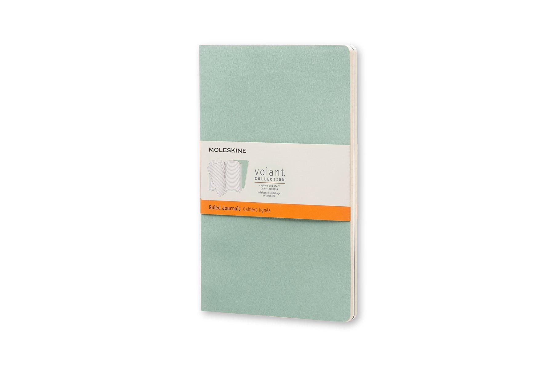 Moleskine Volant Soft Cover Journal, Set of 2, Ruled, ()