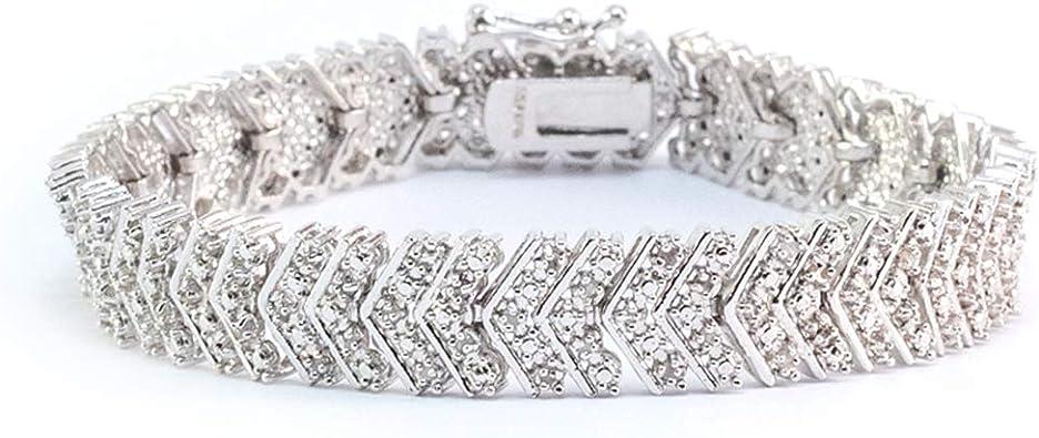 Jawa Jewelers Sterling Silver Womens Round Cubic Zirconia CZ Three Heart Fashion Pendant