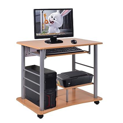costway para ordenador estación de trabajo soporte para Laptop PC ...