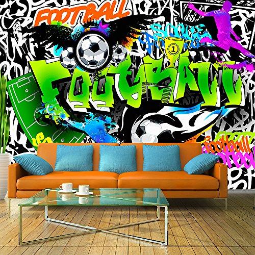 Vlies Fototapete 400x280 cm - 3 Farben zur Auswahl - Top Tapete Wandbilder XXL Wandbild Bild Fototapeten Tapeten Wandtapete Graffiti i-A-0111-a-b