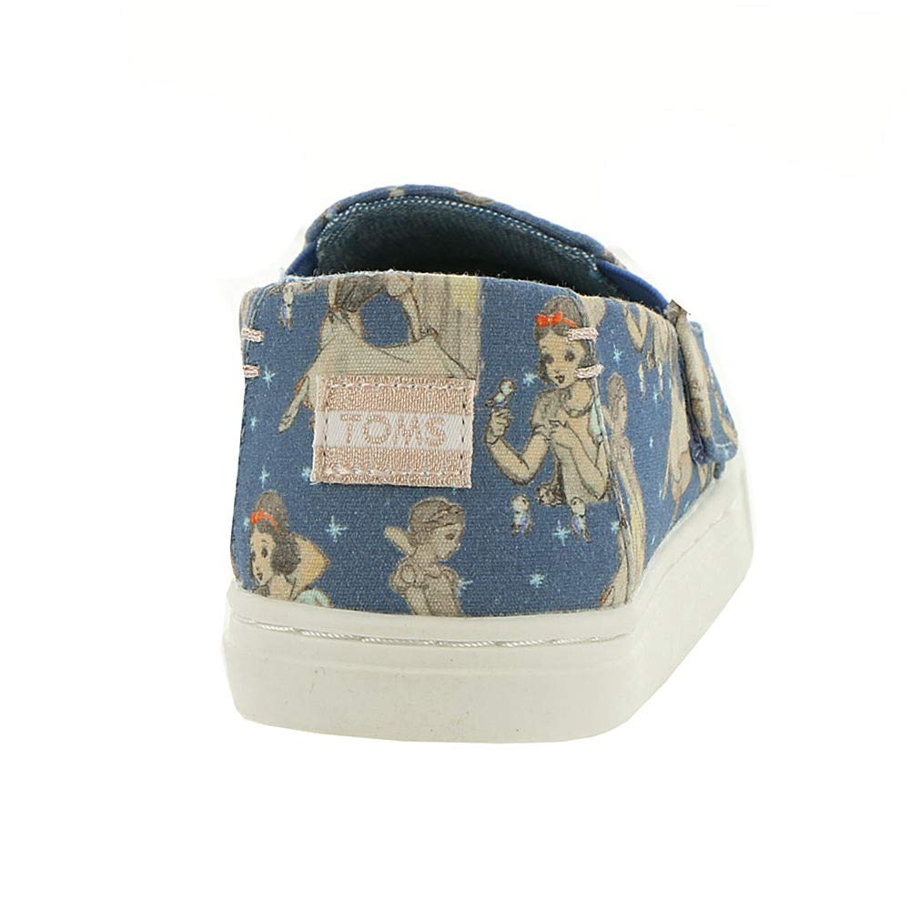 TOMS Girl's, Luca Slip on Shoes Blue 9 M by TOMS Kids (Image #6)