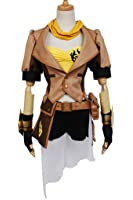 mingL Yellow Trailer Yang Xiao Long Party Dress Up Cosplay Costume Jacket Full Battle Suit
