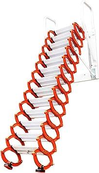 Inicio Loft Escaleras retráctiles Colgante de pared Loft invisible Escalera abatible Bisagra La escalera plegable se puede personalizar 2M-4M (Altura vertical 3.5M): Amazon.es: Bricolaje y herramientas