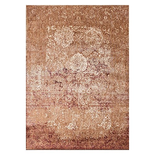 Loloi Rugs, Anastasia Collection - Copper/Ivory Area Rug, 2'7