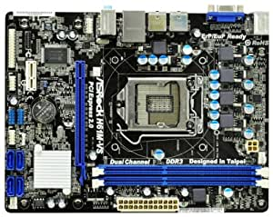 Asrock H61M-VS - Placa base (Dual, Intel, PC, Intel H61, AMI, SATA2)