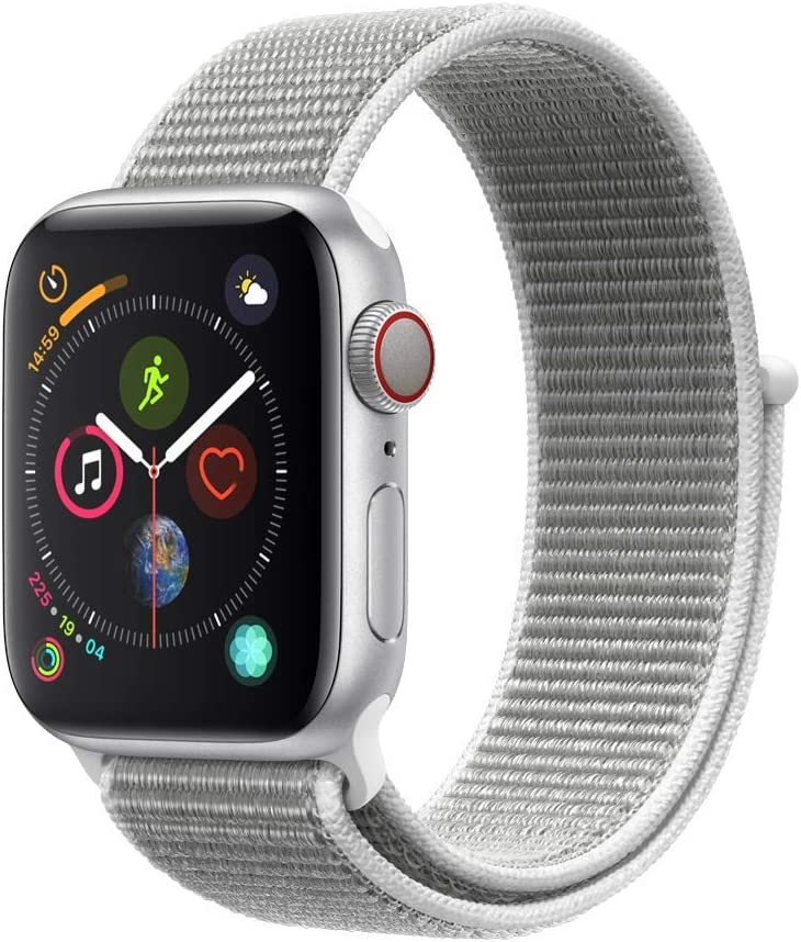 Apple Watch Series 4 (GPS + Cellular) Boîtier Aluminium 40 mm Boucle Sport