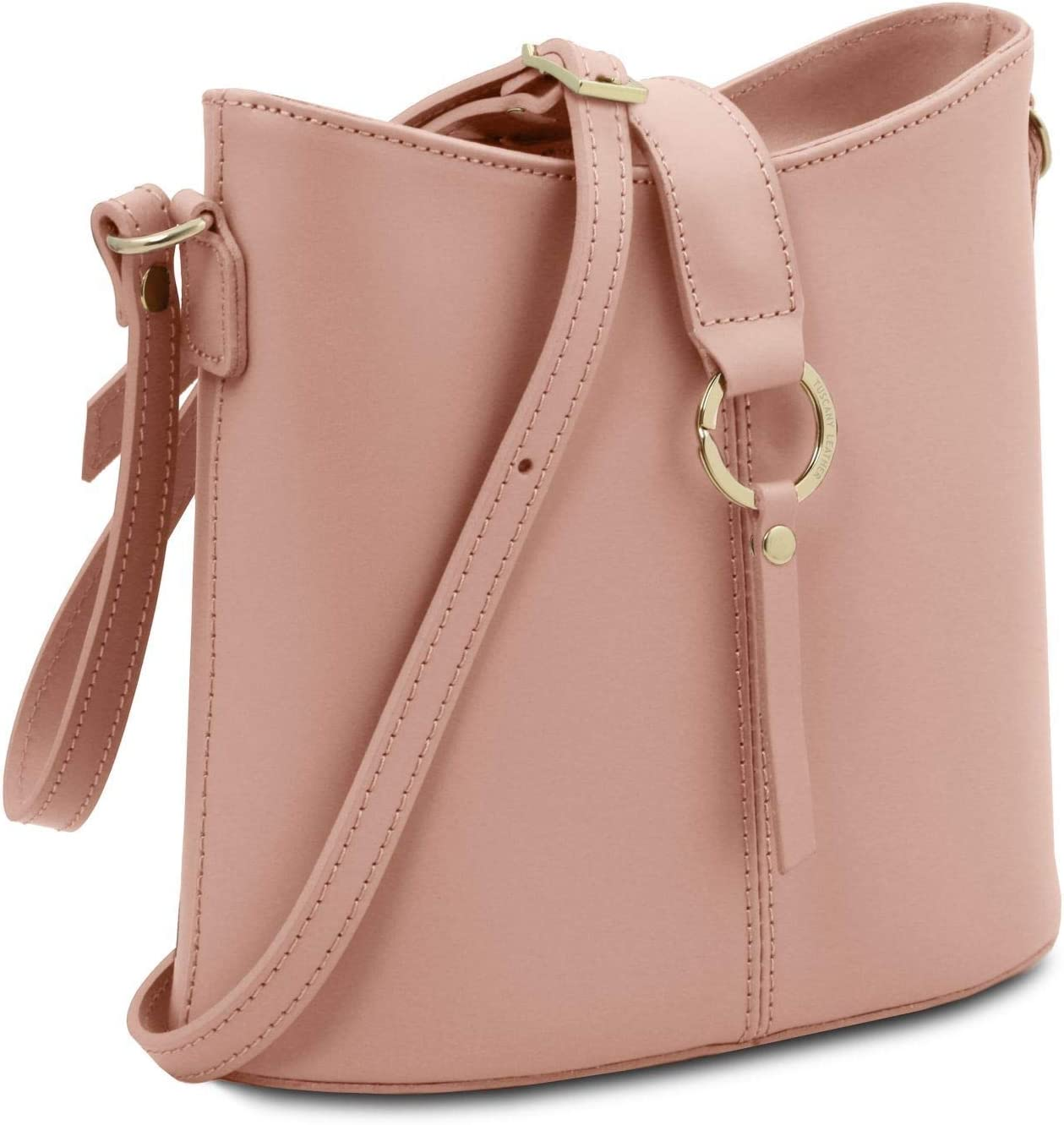 Tuscany Leather Teti Borsa a tracolla in pelle - TL141901 (Cognac) Ballet Pink