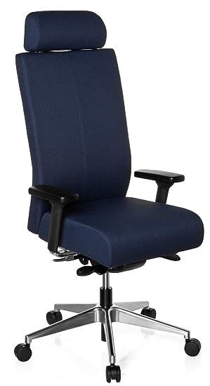Xxl Chaise Direction Bleu Un IntensifAdapté Une De Office Accoudoirs BureauFauteuil Hjh Usage Charge 608620 Tec Max150 Avec Pour Pro ymP0wO8nvN