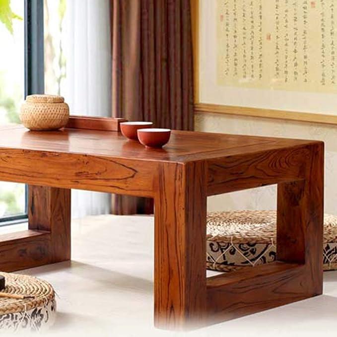 Amazon.com: Mesas de café antiguas de elm mesa de té chino ...