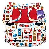 Bambino Mio, miosoft cloth diaper cover, great britain, size 1 (<9kgs)