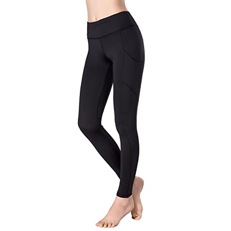 Beepeak Women s Mesh Long Quick Dry Active Workout Tights Gym Yoga Leggings  S color 8a451c747d