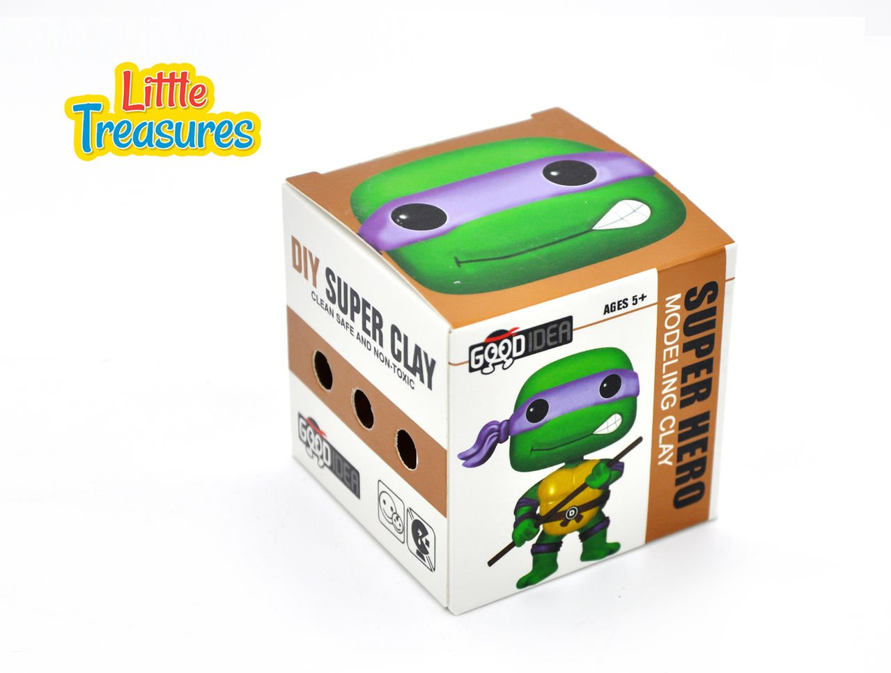 Amazon.com: Tortuga Ninja Sculpting DIY play-set – Crea tus ...