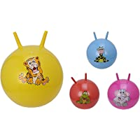 DOMENICO Fantasy 18 Inches Diameter Hopping Bouncing Inflatable Hop Ball Toys for Kids