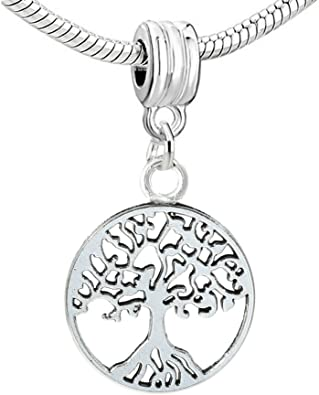 Army Bead Charm Small Sterling Silver Dangle 1//2 Inch