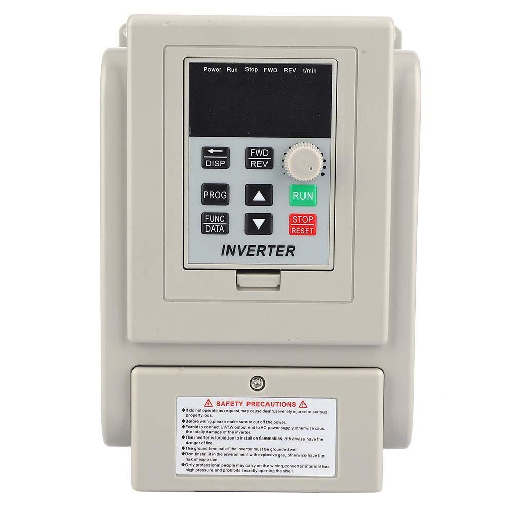 Inverter monofase 220V 2.2KW 12A Controller variatore di frequenza Convertitore dellinverter Ingresso monofase Uscita monofase per controllo velocit/à motore