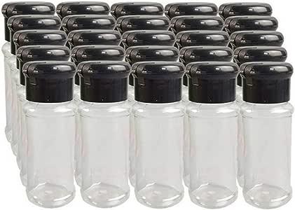 Basage Botellas de Vinagreras de Acero Inoxidable Temporada Latas de Salero Latas de Pimienta Caja de Condimentos Cocinar Condimento Botella BBQ Arco Iris No.0