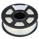 3D Printer Filament - SODIAL(R)3D Filament 3.0mm PLA for Print RepRap MarkerBot Rapman 1kg/2.2lbs, Transparent