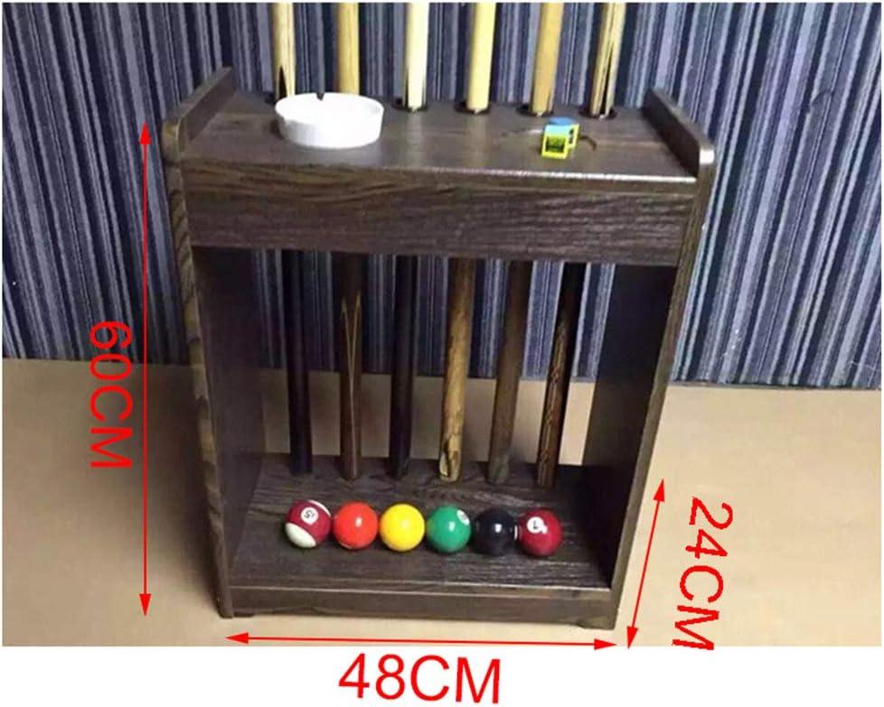 SSHHM Snooker Cue Rack,12 Hoyos Soporte Palos de Billar, Snooker Accessories para Clubes Escuelas/Como se muestra / 60×48×24cm: Amazon.es: Bricolaje y herramientas