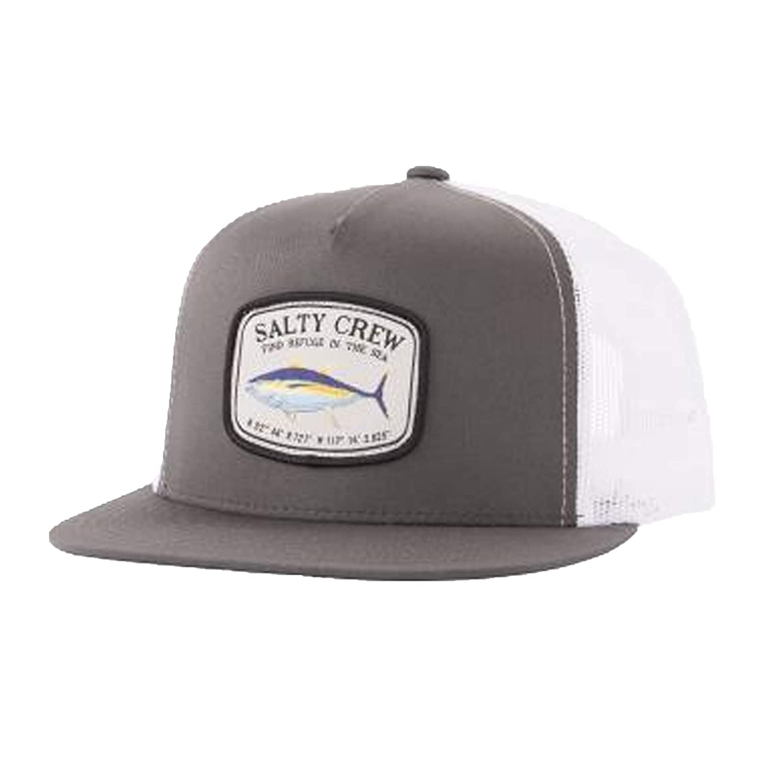 new style 3cc10 1005c Amazon.com  Salty Crew Men s Pacific Trucker Hat, Dark Grey White  (DRKGRYWT DRKGYWT), One Size  Clothing