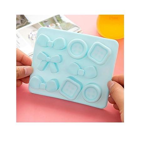 Compra maxgoods 5 STK silicona Knot arco botón forma cubitos de ...