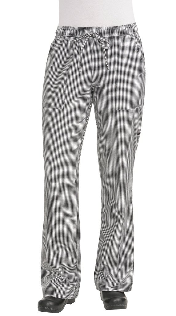 Chef Works Women's Traditional Chef Pant (WBAW)