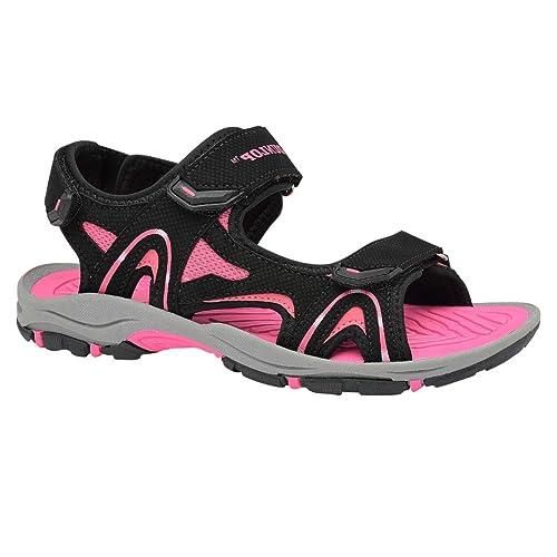 416472bd4e8 Dunlop - Sandalias deportivas para mujer negro negro  Amazon.es  Zapatos y  complementos