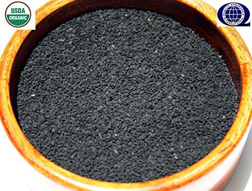 Organic NIGELLA SATIVA Seed AKA Black Cumin ,Kalonji, Black Seed- 8 oz