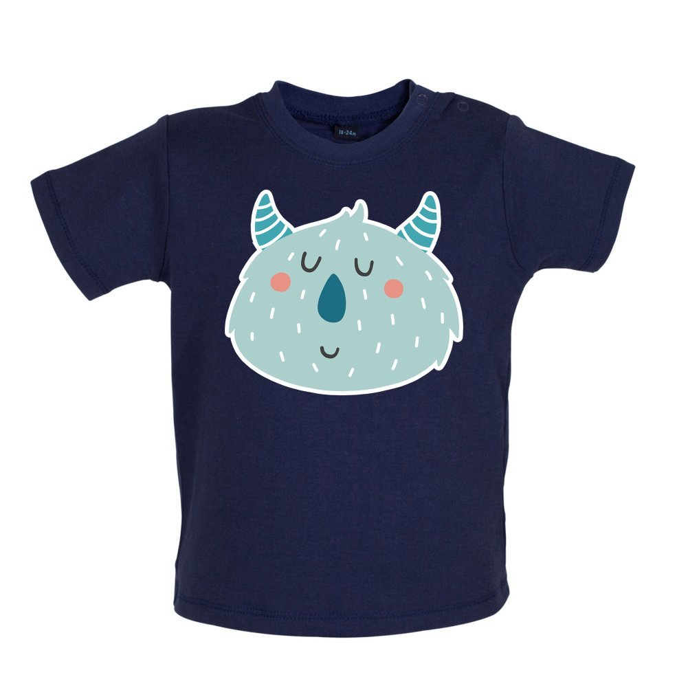 Smiley Face Sully 3-24 Months Baby//Toddler T-Shirt