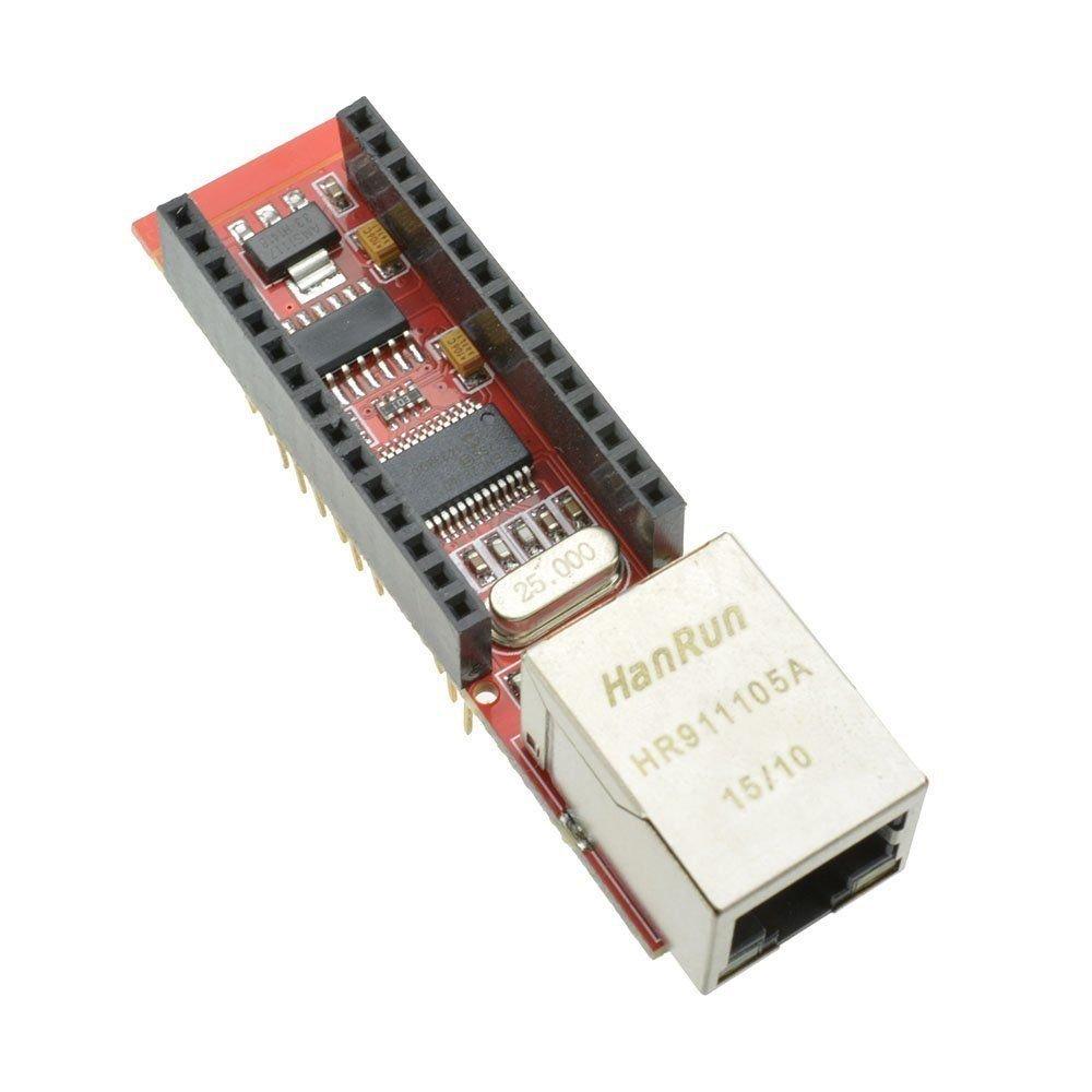Exiron ENC28J60 Ethernet Shield for Arduino Nano 3.0 RJ45 Webserver Module