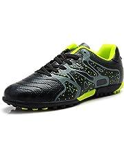 timeless design 85550 ac263 Tiebao Niño Difícil Suelo Artificial Velocidad PU Cuero Fútbol Zapatos