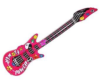 confettery - hinchable Guitarra de Flower Power Party ...