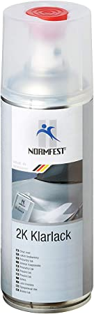 Auprotec Normfest 2 K Clear Lacquer Spray Jet High Speed High Gloss Paint Sealant Benzinfest 400 Ml Auto