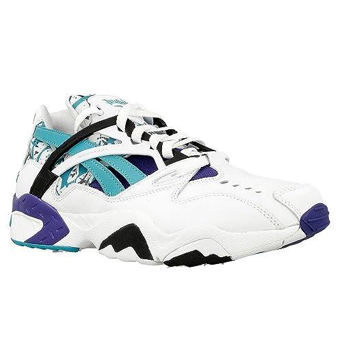 Zapatillas Reebok - Graphlite Pro blanco/azul/verde talla: 43: Amazon.es: Zapatos y complementos