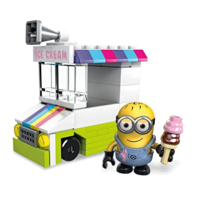 Mega Construx Despicable Me Ice Scream Truck Mini: Toys & Games