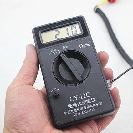 NMVB O2 Sauerstoffkonzentrationstester Tester Sauerstoffdetektor-Montiermesser CY-12C