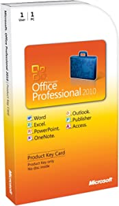 Office Professional 2010 Key Card (1pc/1user) [Download]