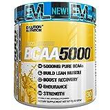 Evlution Nutrition BCAA5000 Powder 5 Grams of Premium BCAAs (Pineapple, 30 Servings)