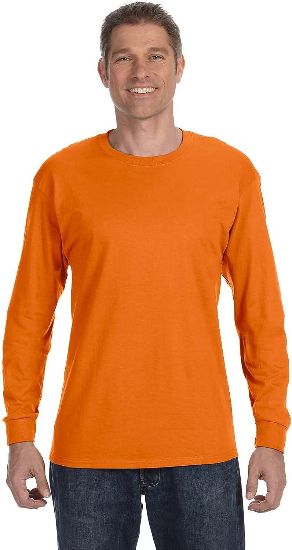 Hanes Mens 6.1 oz. Tagless ComfortSoft Long-Sleeve T-Shirt (5586)