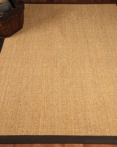 picture of NaturalAreaRugs Montreal Sisal Rug, Handcrafted, 100% Natural Sisal, Eco-Friendly, 9' x 12'
