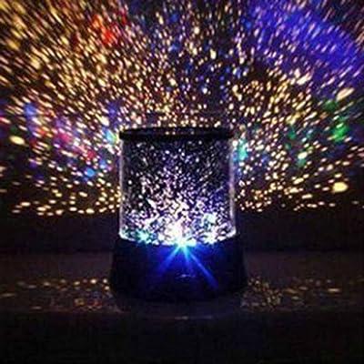 Romantique LED lampe de nuit Projecteur étoile