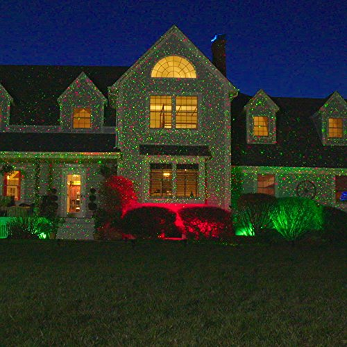 Red And Green Christmas Lights Outdoor